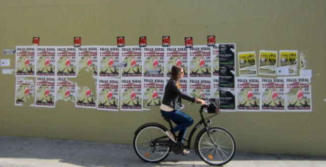 a coruña huelga general ciclista