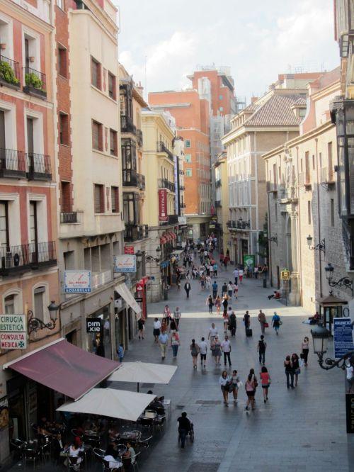 calle del carmen madrid spain