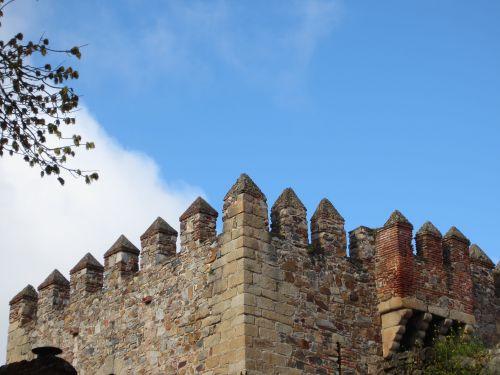torre en caceres conjunto monumental