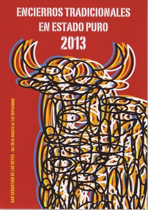 cartel encierro san sebastian de los reyes 2013